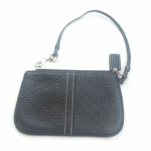 Coach Black Wristlet mini Wallet